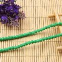 Beads, Glass, Green , Round shape, Diameter 4mm, 40 Beads, [BHB0116]